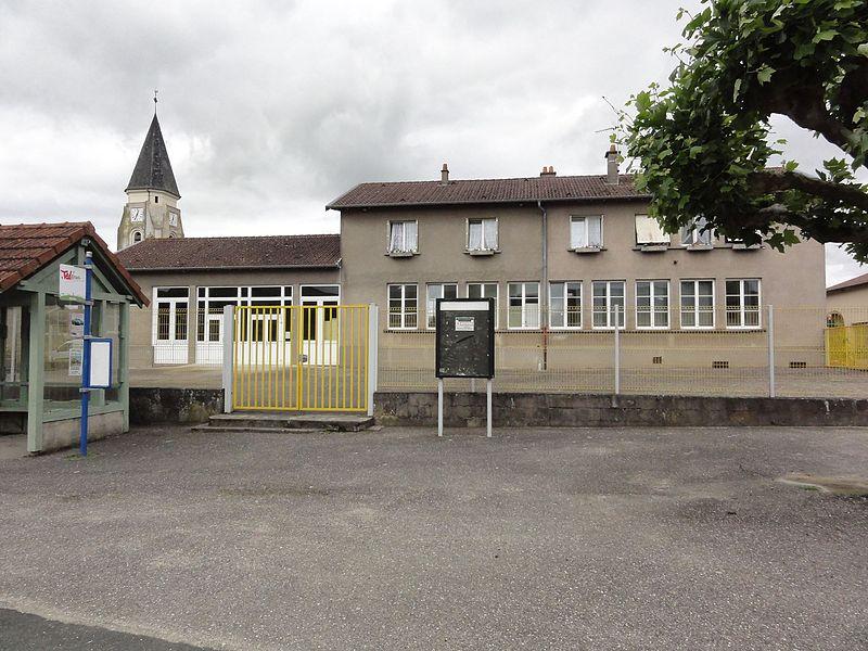 Coincourt (M-et-M) mairie-école