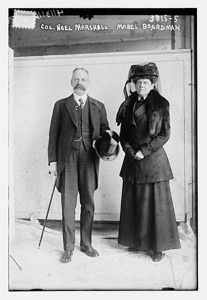 File:Col. Noel Marshall & Mabel Boardman on April 13, 1916 ...
