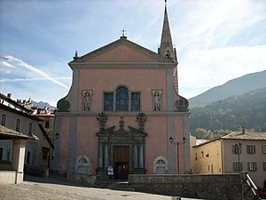 Bormio - Collegiata church.