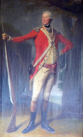 62nd (Wiltshire) Regiment of Foot - Lieutenant Colonel John Anstruther who commanded the regiment during the American Revolutionary War