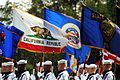 Color guard at Warner retirement 02.jpg