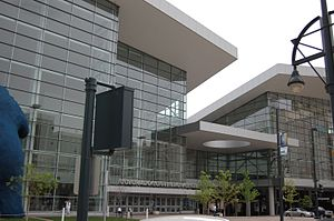 Colorado Convention Center - Main entrance
