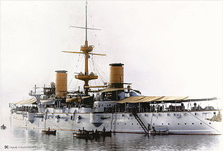 Protected cruiser of the Argentine Navy