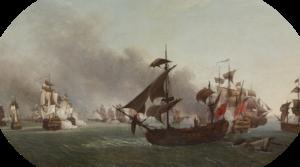Battle of Grenada - Image: Combat naval de la Grenade