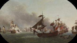 Battle of Grenada - Battle of Grenada, by Jean-François Hue