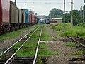 Comboios em cruzamento no pátio da Estação Ferroviária de Itu - Variante Boa Vista-Guaianã km 202 - panoramio (6).jpg