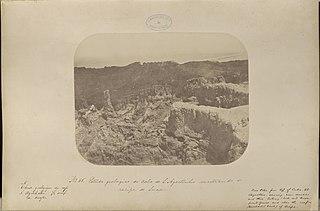 Estudo geologico do cabo de Santo Agostinho mostrando o recife de Suape
