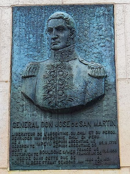 File:Commemorative Plaque for Don José de San Martin - panoramio.jpg