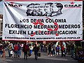 Communist (CMAP) Banner in Plaza - San Luis Potosi - Mexico - 01 (45445662135).jpg