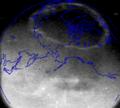 Complete UV Aurora borealis Polar coastlines overlay.png