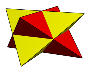 Compound of two tetrahedra - Image: Compound of two disphenoids