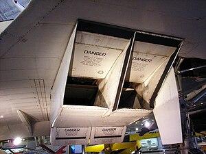 Intake ramp - Image: Concorde Ramp
