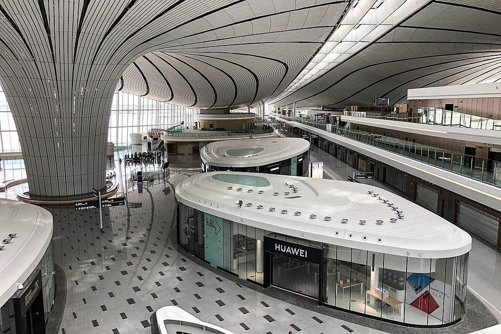 Прогулка по новому пекинскому аэропорту Дасин