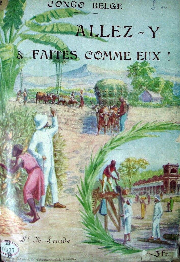 Congo belge Allez-y propaganda jaren 1920