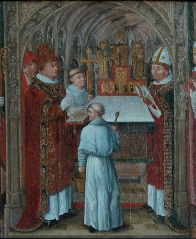 Consécration par EUgène III