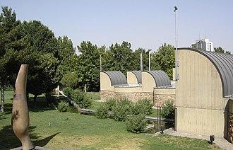 Tehran Museum of Contemporary Art - Garden of Sculptures, near the museum