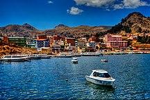 Bolivia-Geography-Copacabana, Lake Titicaca (4088820782)