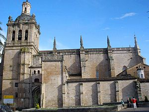 Coria Cathedral - Cathedral of Coria
