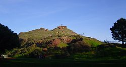 Street view of Corona Heights Park