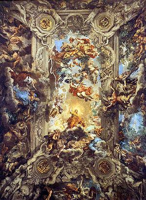The Triumph of Divine Providence (La divina pr...