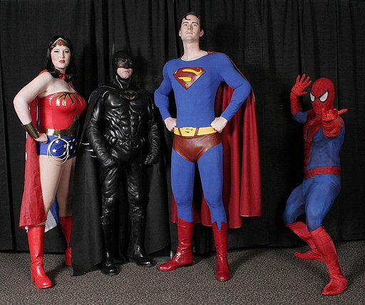 Cosplay of superheroes on OneQuarterMama.ca