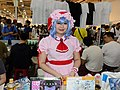 Cosplayer of Remilia Scarlet, The Embodiment of Scarlet Devil in B35, B36 TOHOORIN Booth, 2015FFTC 20150801.jpg