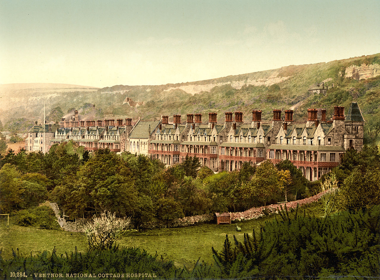 File:Cottage Hospital, Ventnor, Isle of Wight, England, ca ...