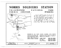 Cover - Norris Soldiers Station, Norris Campgrounds and Gibbon River vicinity, Lake, Teton County, WY HABS WYO,24-NORJ,1- (sheet 1 of 6).png
