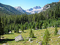 Cramer Lakes basin from Alpine Lake trail in Sawtooth Wilderness.jpg