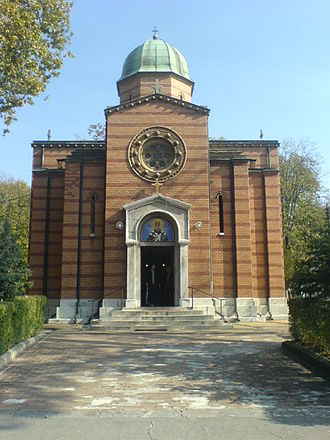 Belgrade New Cemetery - Church of St. Nicholas at the cemetery