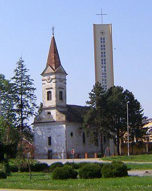Gunja, Croatia - Image: Crkva u Gunji