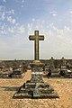 Croix du cimetière de Wy-dit-Joli-Village, Val d'Oise, France.jpg