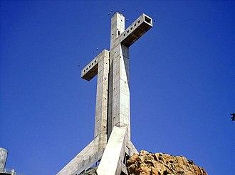 Coquimbo Region - Cruz del Tercer Milenio in Coquimbo.