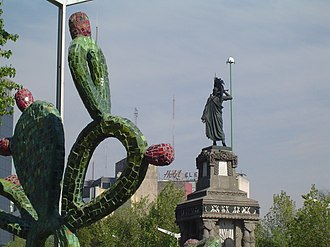 Monument to Cuauhtémoc - Image: Cuauhtemoc Monument