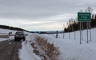 Colorado State Highway 12 - Image: Cuchara Pass