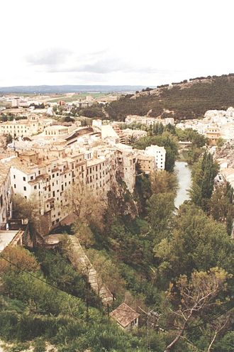 Júcar - Júcar River flowing through Cuenca
