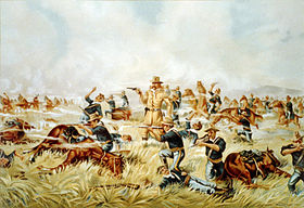 Custer Massacre At Big Horn, Montana June 25 1876.jpg