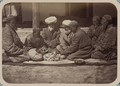 Customs of Central Asians. Circumcision WDL10835.png