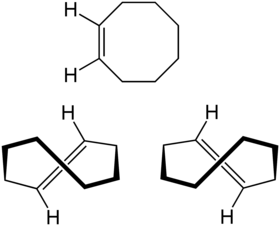 Struktur von Cycloocten