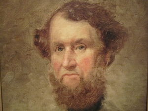 Cyrus McCormick - Cyrus Hall McCormick portrait, held by the National Portrait Gallery in Washington, D.C.