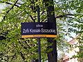 Częstochowa tabliczka z nazwą ulicy Kossak-Szczuckiej 28042012 kpjas.JPG