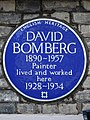 DAVID BOMBERG 1890-1957 Painter lived and worked here 1928-1934.jpg