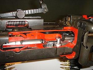 Atelier Mécanique de Mulhouse - Image: DCB Shooting MG42 Roller system