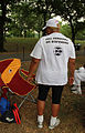 DC statehood - Full democracy - Woman marcher in white t-shirt - 50th Anniversary of the March on Washington for Jobs and Freedom.jpg
