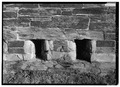 DETAIL OF GUN PORTS - Fort Adams, Newport Neck, Newport, Newport County, RI HABS RI,3-NEWP,54-50.tif