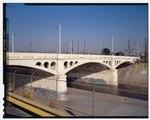 ДЕТАЛЬНЫЙ ВИД НА ЮГ ОТ ГЛАВНОЙ УЛИЦЫ, ПЕРЕСЕКАЮЩЕЙ РЕКУ ЛОС-АНДЖЕЛЕС. СМОТРЕТЬ НА СЕВЕРО-ВОСТОК. - North Main Street Bridge, Лос-Анджелес, округ Лос-Анджелес, CA HAER CA-276-6 (CT) .tif