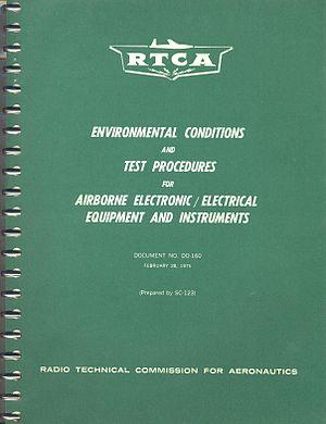 DO-160 - Cover of original 1975 issue