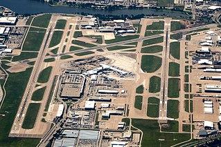 Dallas Love Field Airport in Dallas, Texas, United States