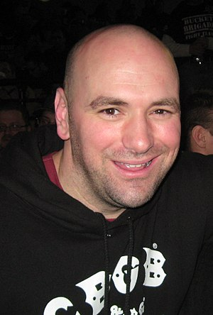 Dana White - White in February 2008