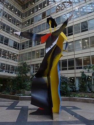 Allen Jones (artist) - Dancers by Allen Jones, Hay's Galleria in March 2011